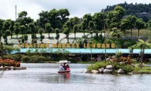 Paket family gathering floating market Lembang
