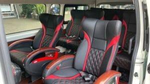 Sewa Hiace Premio Luxury Bandung